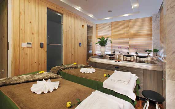 Relaxing Winter at SILK SPA